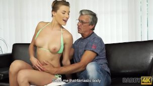 Daddy4k. Dude Is Astonished To Catch His Gf And Daddy Having Messy Fucky-fucky
