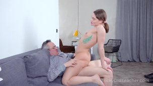 Honey Prizes Older Lecturer With A Insatiable Screw Activity